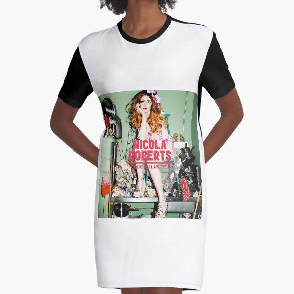 Nicola Roberts - Cinderella's Eyes Graphic T-Shirt Dress