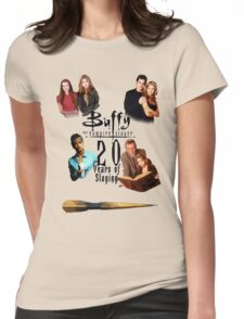 Buffy - 20 Years of Slaying Womens Fitted T-Shirt