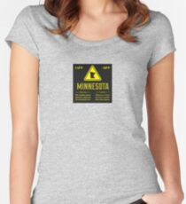 Minnesota Extreme Warning Women's Fitted Scoop T-Shirt