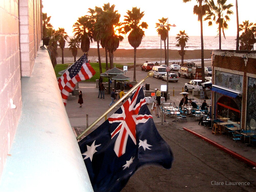 Flags by Clare Lawrence