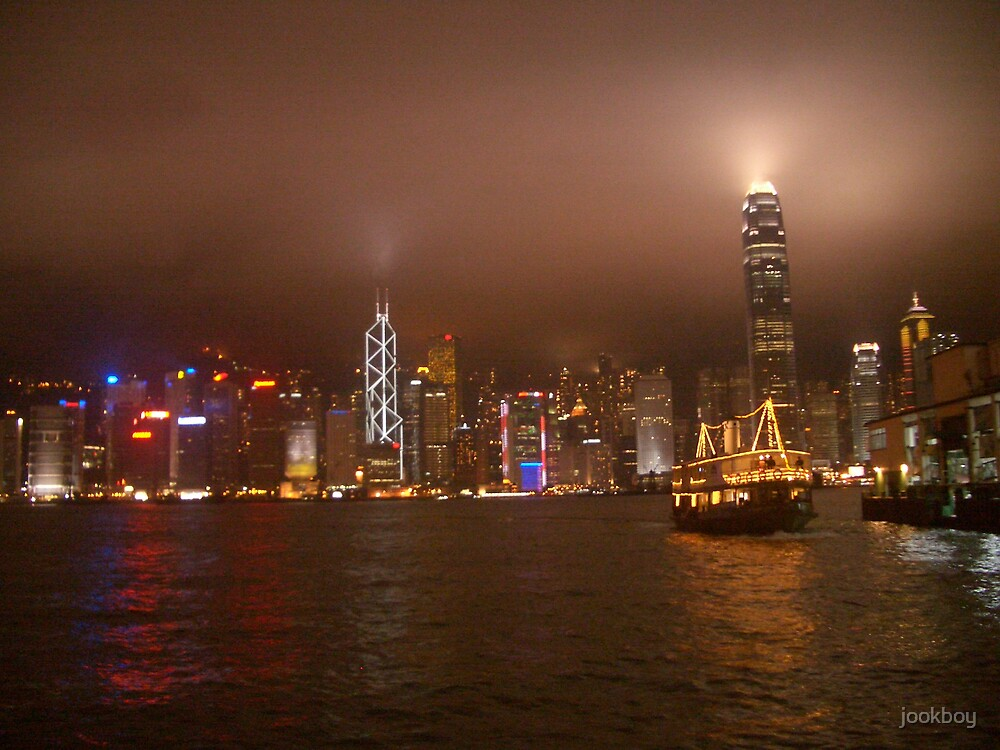Hong Kong Lights by jookboy