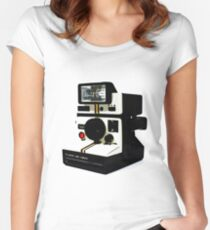 Instant camera Women's Fitted Scoop T-Shirt