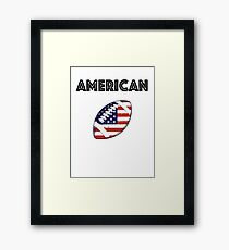 American Football Framed Print