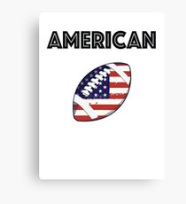 American Football Canvas Print