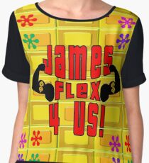 TV Game Show - TPIR (The Price Is...) James Women's Chiffon Top
