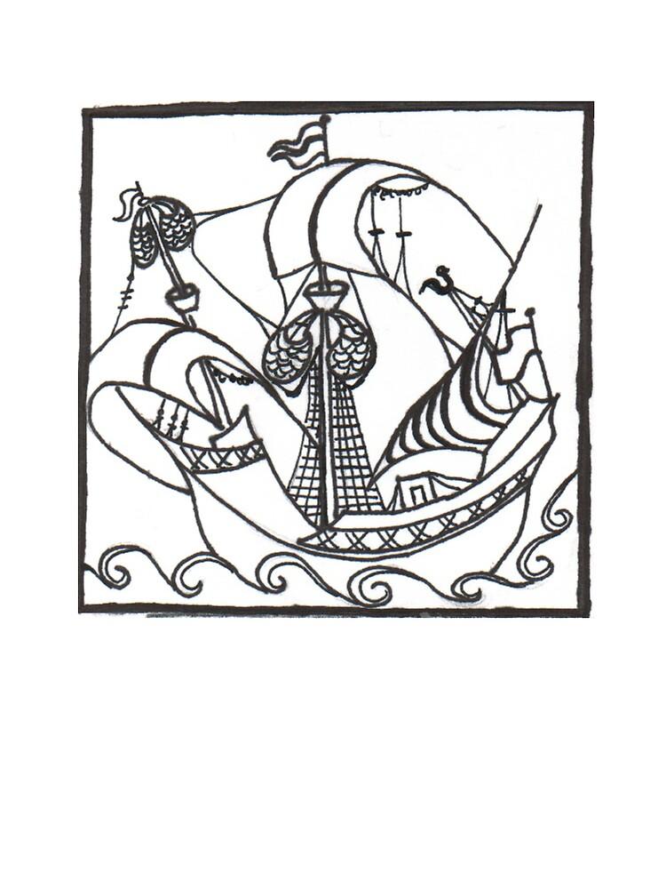 Sailing Away by hancakes