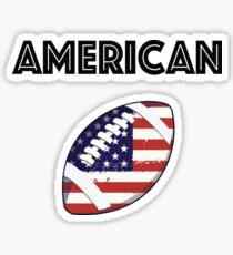 American Football Sticker