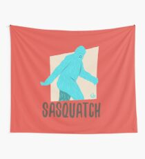 Monster Series: Sasquatch Wall Tapestry