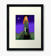 Pagan Girl Framed Print