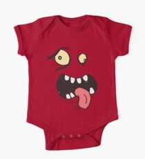 Little Monster kids t-shirt, birthday gift graphic tee (MLM01) One Piece - Short Sleeve