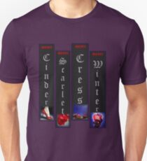 Lunar Chronicle Spines Unisex T-Shirt