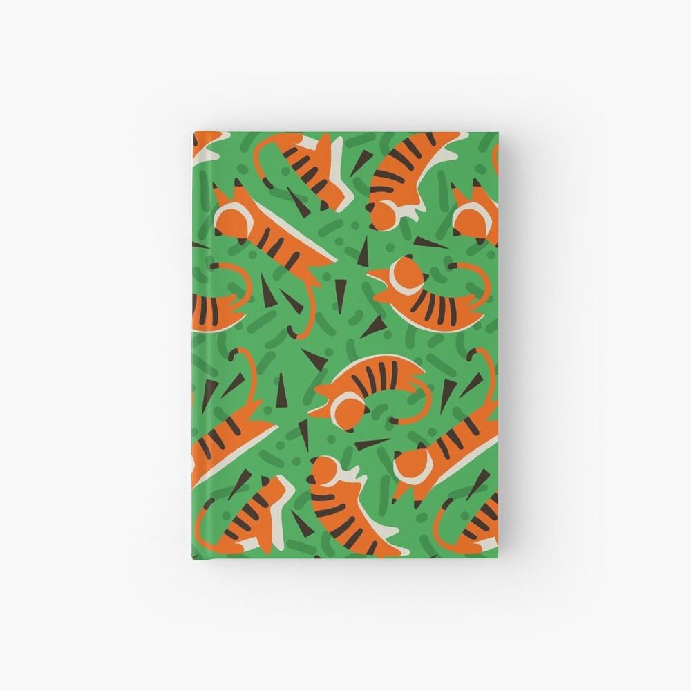Tiger Jungle Hardcover Journal