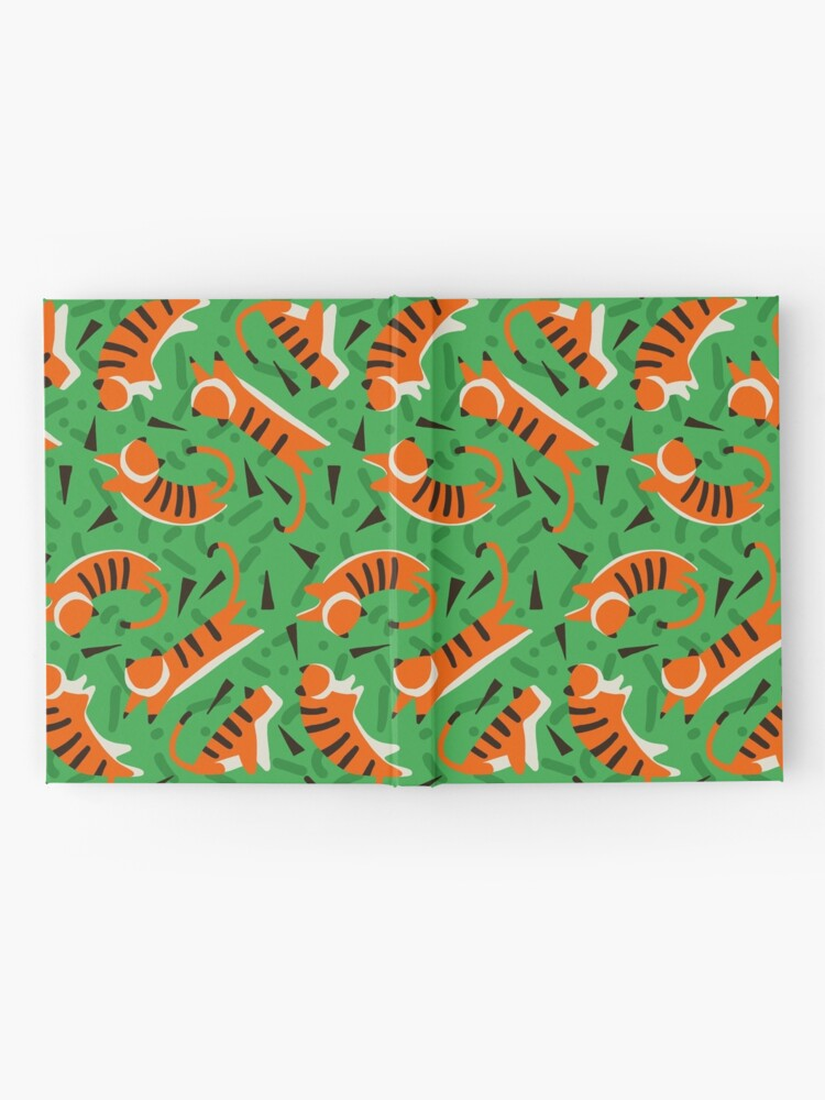 Alternate view of Tiger Jungle Hardcover Journal