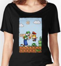 Super Calvin & Hobbes Bros. Women's Relaxed Fit T-Shirt