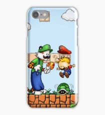 Super Calvin & Hobbes Bros. iPhone Case/Skin