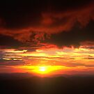 Sunset from Mt.Hotham by John Barratt