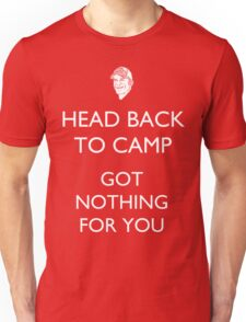 Head Back to Camp - Survivor/Probst Unisex T-Shirt