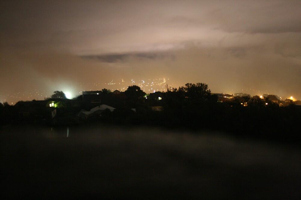 Christchurch New Zealand at Night by amanwithapan