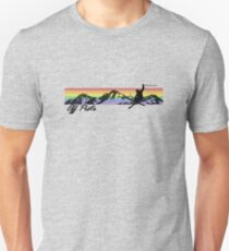 Off Piste Skiing Unisex T-Shirt