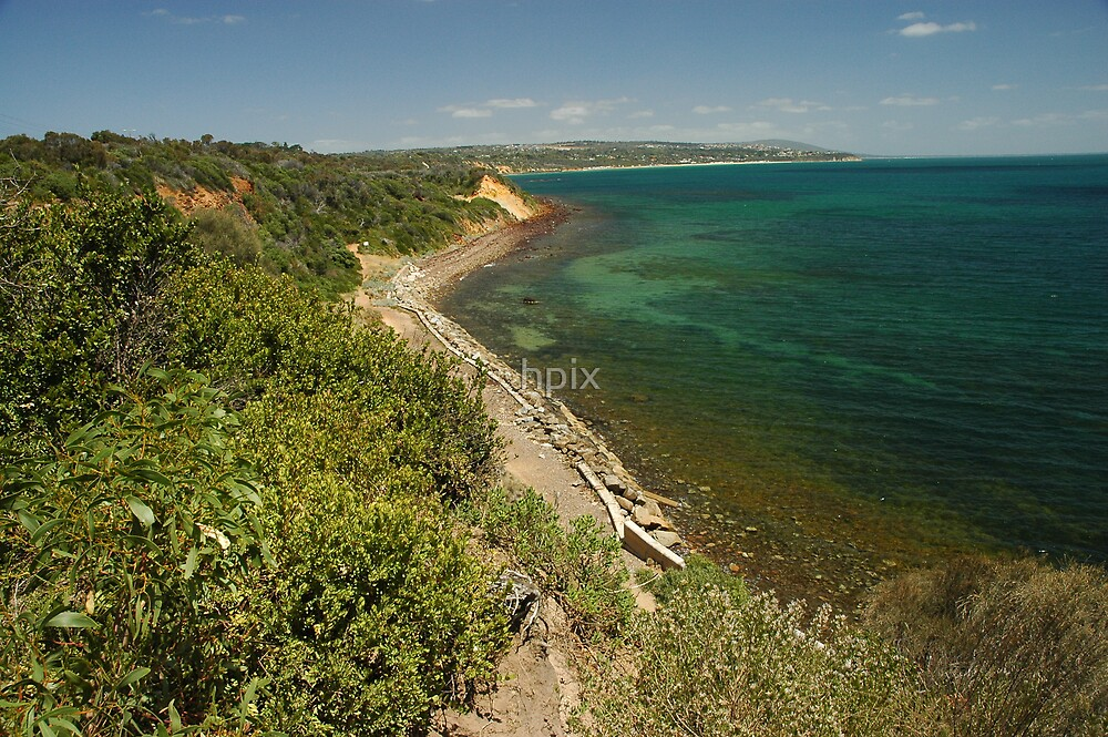 Beach overview by hpix