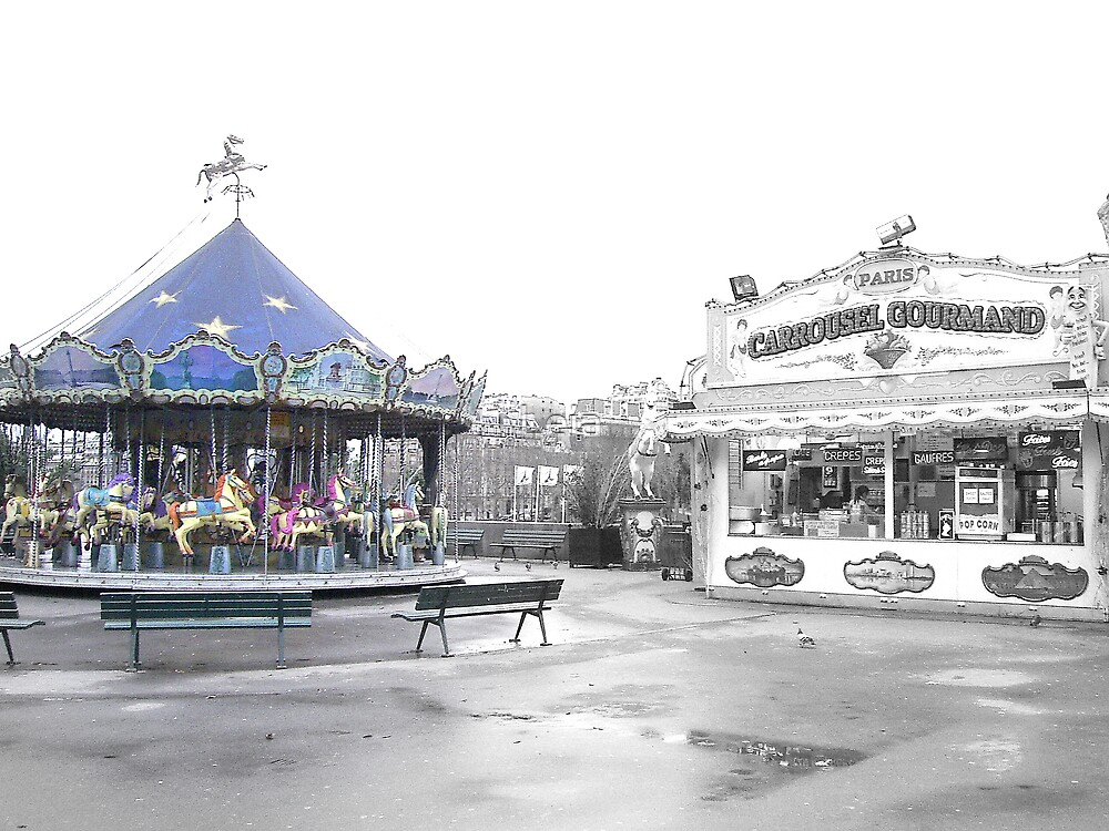Carrousel Abandonment by Leia