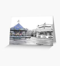 Carrousel Abandonment Greeting Card