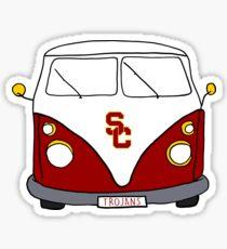 USC Van Sticker