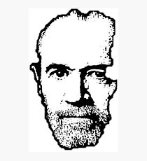 George Carlin Photographic Print