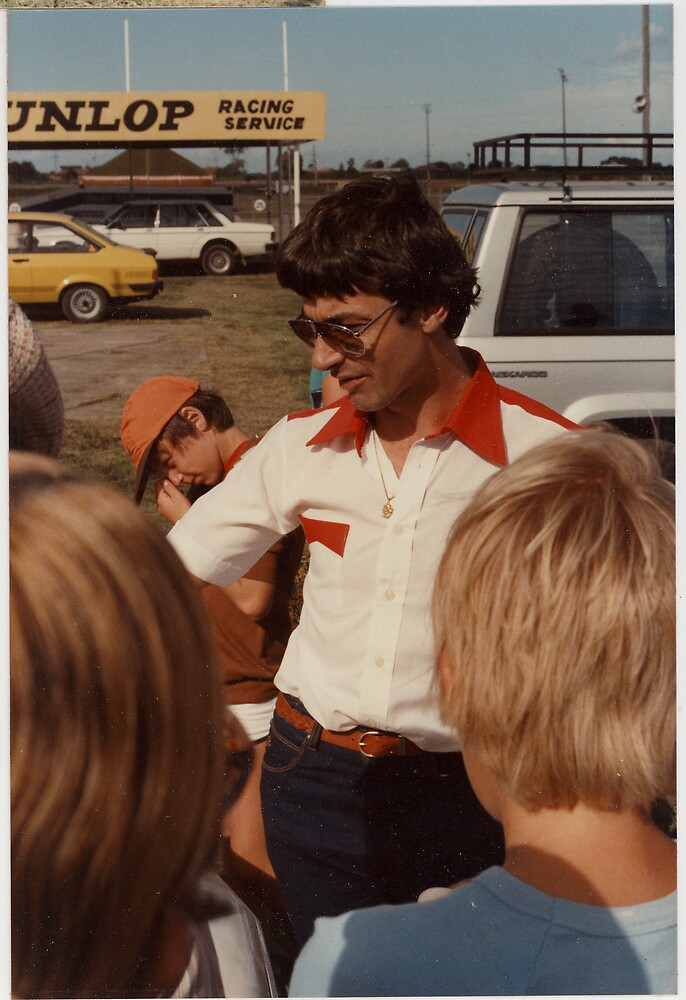 Peter Brock, a young Peter Brock by Cliff Manley