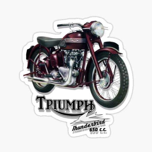 CAFE RACER Gold Black Sticker set motorbike motorcycle Biker Triumph BSA Suzuki