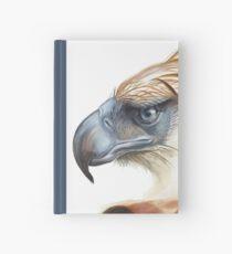 Fierce Philippine Eagle Profile Hardcover Journal