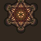 Metatron's Cube ~ Sacred Geometry by VisionQuestArts