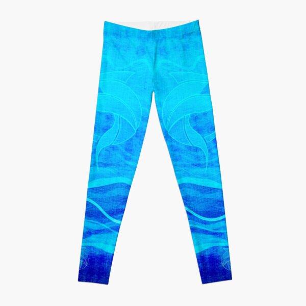 Leggings - Marlin Blue Aqua Leggings