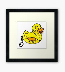 The Old Ball and Chain Framed Print