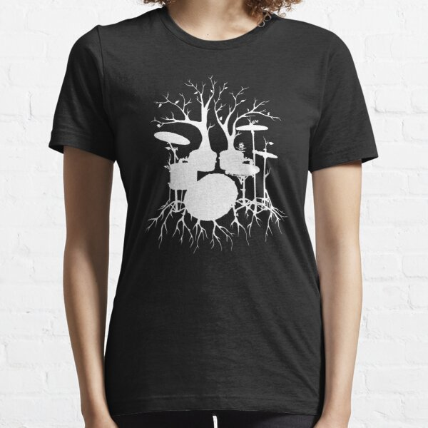 """""""Live the Beat to the Tempo of Creation"""" ~ drum art , version1 Essential T-Shirt"""