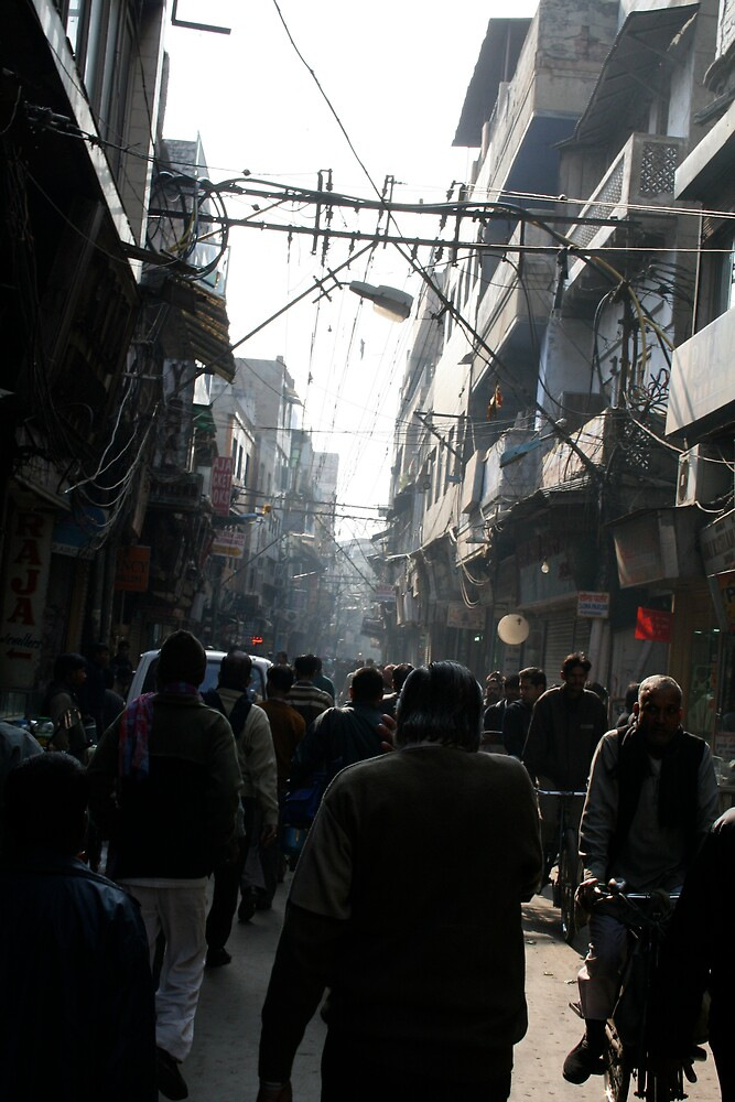 Around Chandni Chowk by Dan Weston