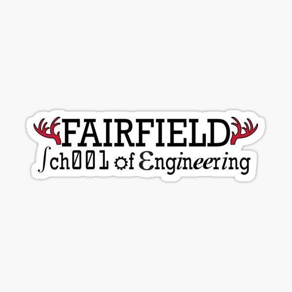 Fairfield University School of Engineering Sticker