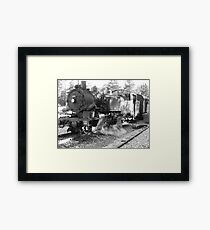 Locomotive Framed Print