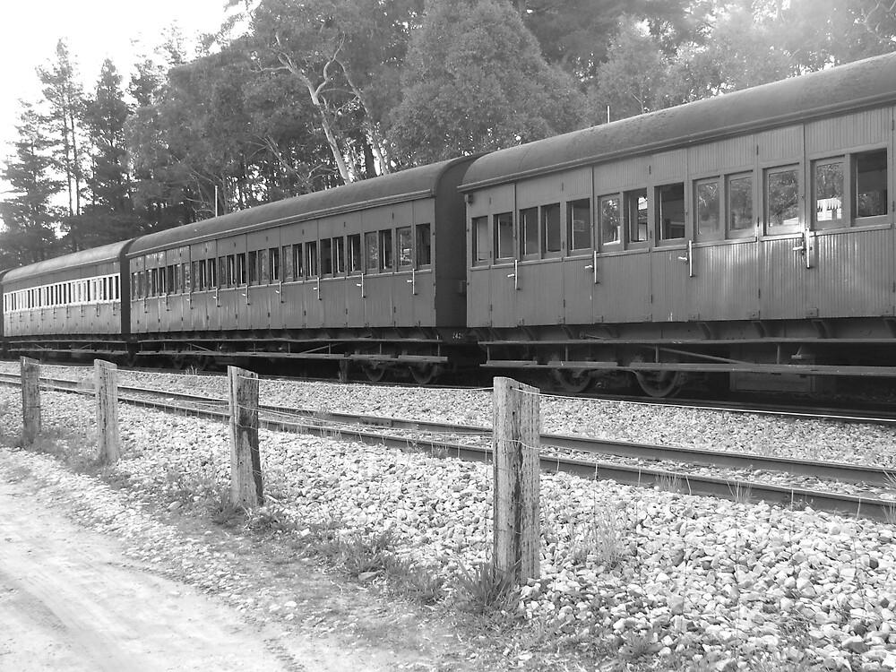Railway carriage by simonsinclair