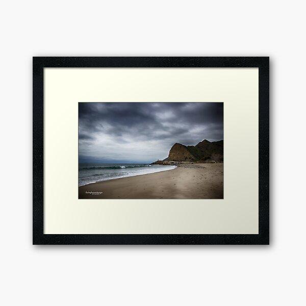 Point Mugu - Malibu winter 2017 Framed Art Print