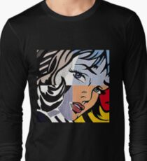 Lichtenstein's Girl Long Sleeve T-Shirt