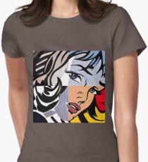 Lichtenstein's Girl Womens Fitted T-Shirt