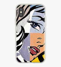 Lichtenstein's Girl iPhone Case