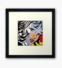 Lichtenstein's Girl Framed Print