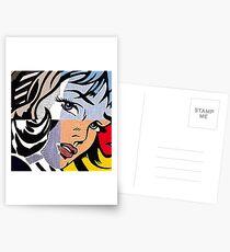 Lichtenstein's Girl Postcards
