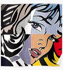 Lichtenstein's Girl Poster
