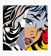 Lichtenstein's Girl Photographic Print
