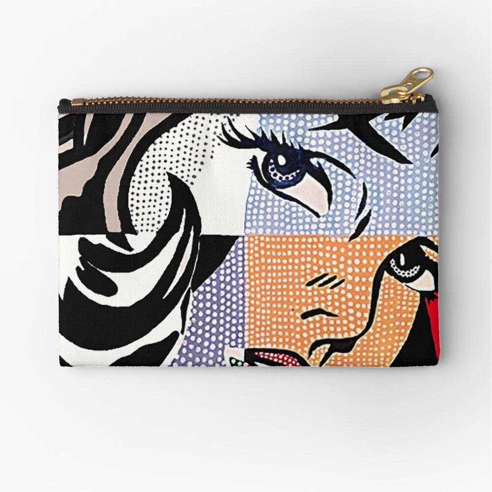 Lichtenstein's Girl Zipper Pouch