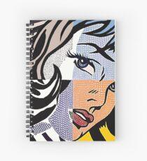 Lichtenstein's Girl Spiral Notebook