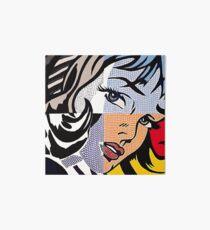 Lichtenstein's Girl Art Board
